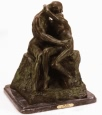 The Kiss bronze reproduction by Rodin