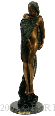 Cloak of Flowers bronze by Kurtz