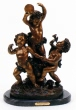 Dancing Cupids bronze by Livi
