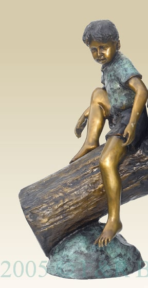 Funt Time bronze reproduction