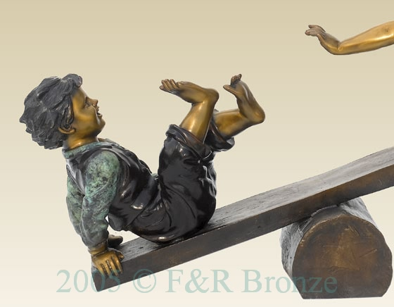 Teeter Totter bronze