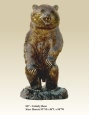 Grizzly Bear Bronze sculpture
