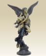Heroic Cupid and Psyche bronze statue