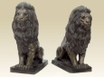 Seated Lion bronze
