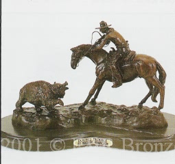 Double Trouble Bronze inspired by Remington