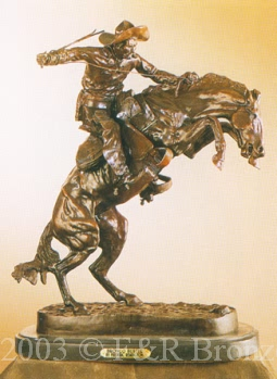 Bronco Buster Bronze by Frederic Remington