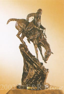 Mountain Man Bronze by Frederic Remington