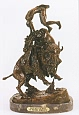 Buffalo Horse Bronze Statue by Frederic Remington