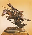 Cheyenne Bronze Statue by Frederic Remington