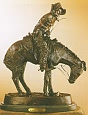 Norther Bronze Statue by Frederic Remington