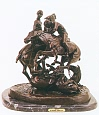 Polo Bronze Statue by Frederic Remington
