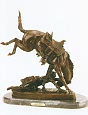 Wicked Pony Bronze Statue by Frederic Remington