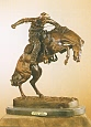 Wooly Chaps Bronze Statue by Frederic Remington