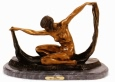 Isis bronze sculpture by Colinet