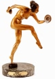Cymbal Dancer bronze by Icart