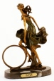 Playtime bronze statue by Icart