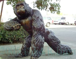 King Kong bronze sculpture