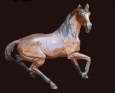 Copper Stallion bronze sculpture