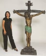 Jesus Cross bronze by Nardini