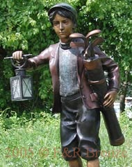 life size bronze children