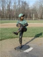 Baseball Pitcher Boy bronze