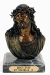 Jesus Bust bronze by Micheal S.