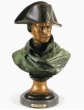 Napoleon bust bronze statue by Colombo