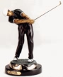 Golfer bronze reproduction by Max Turner