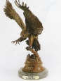 Eagle bronze by Max Turner