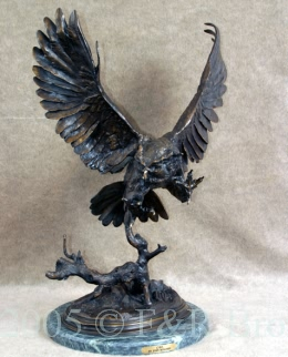 Owl bronze by Jules Moigniez