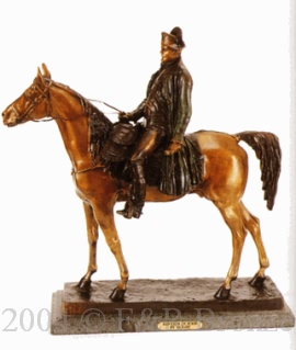 Napoleon on Horse bronze bt Molise