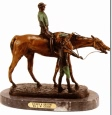 Jockey & Groom bronze