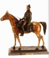 Napoleon on Horse bronze sculpture