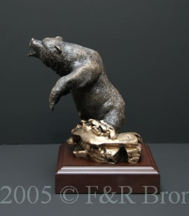 Attitude bronze by Wally Shoop